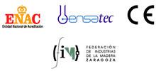 Logos ENAC, ENSATEC, CE, FIM